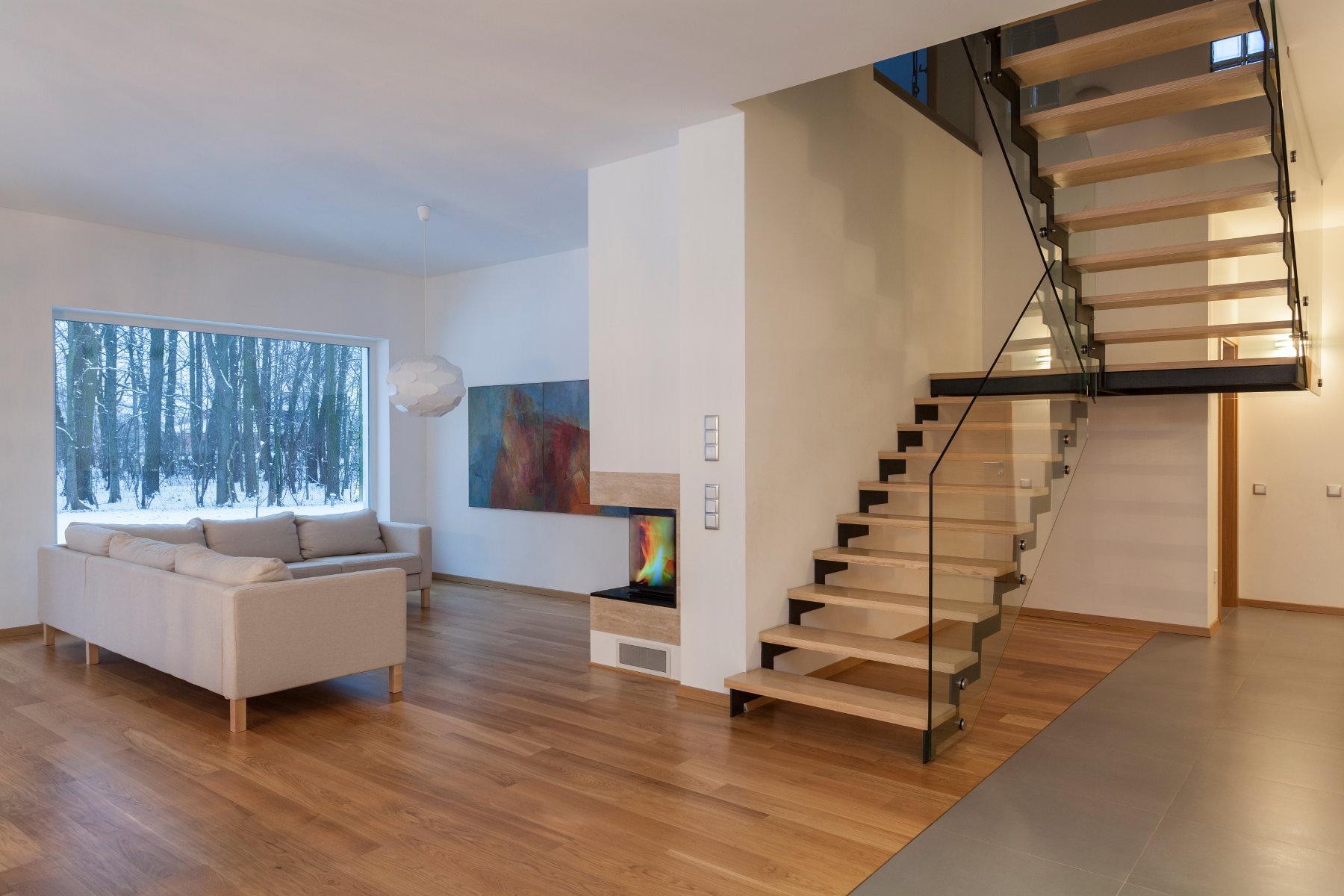 Cudowna Schody dębowe konstrukcja stalowa cena | Schody drewniane UW28